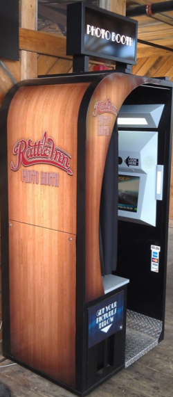 Click to See our Custom Bar Photo Booths